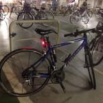 災害に備えて自転車通勤