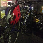 シフトレバーの位置を変えて、その後の自転車通勤