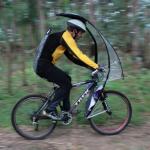雨の日の自転車もLeafXProで安心!