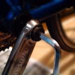 ロードバイクのクランクを交換した!170mmから165mmに