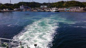 東京湾フェリー 久里浜出港